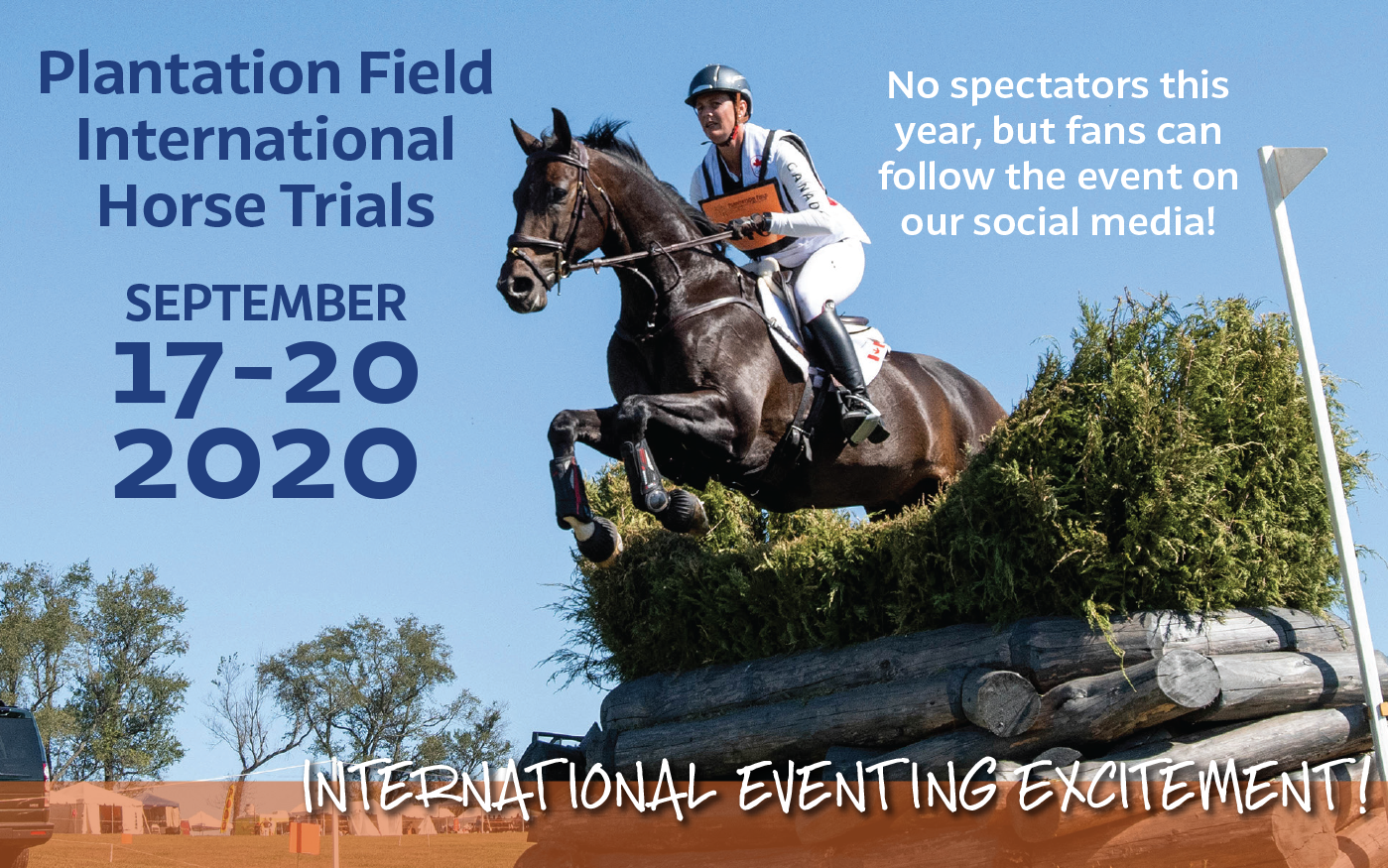 September 17-20 2020 International Eventing Excitement!