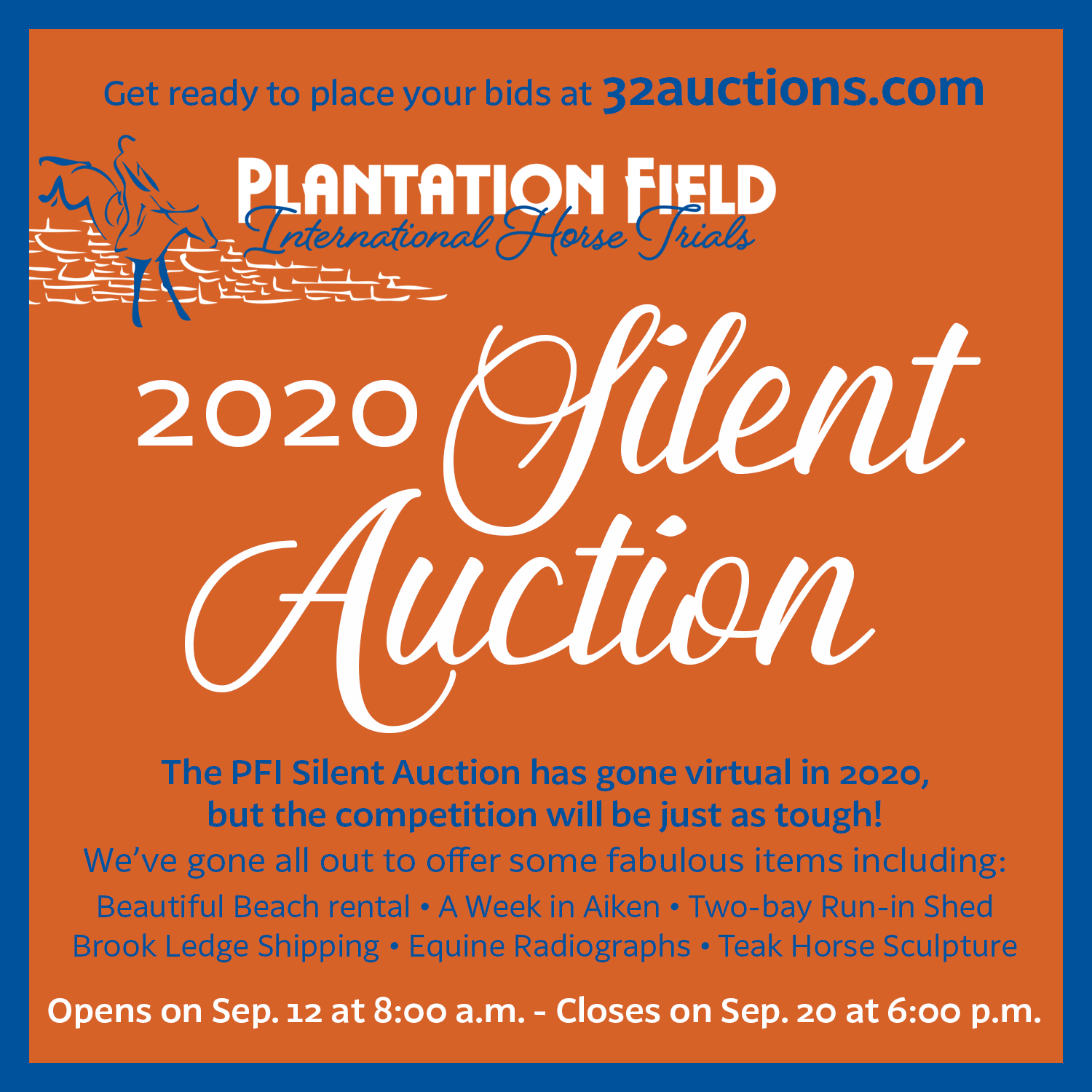 2020 Silent Auction